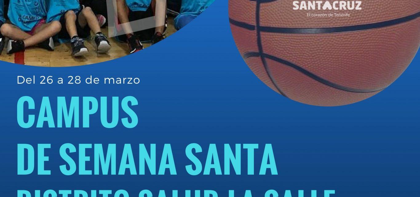 CAMPUS DE SEMANA SANTA, GRATUITO. PLAZAS LIMITADAS.