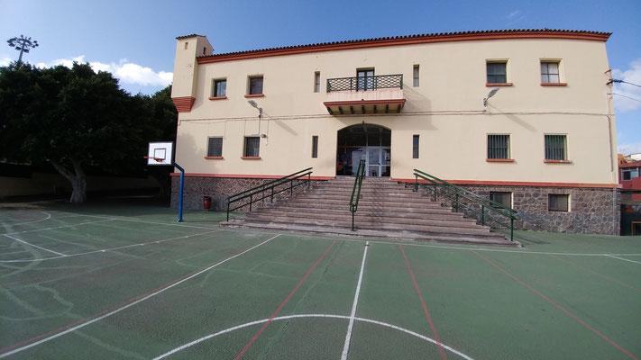 El Tenerife Central abre una nueva escuela de baloncesto en el CEIP Tagoror