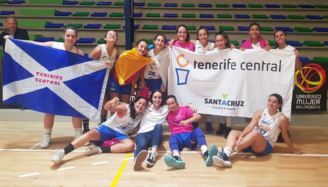 Brillante clasificación del Tenerife Central para los cuartos de final del Campeonato de España Infantil