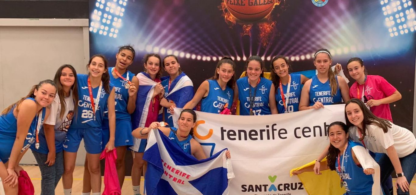 El Tenerife Central finaliza el Campeonato de España Infantil en una notable séptima posición