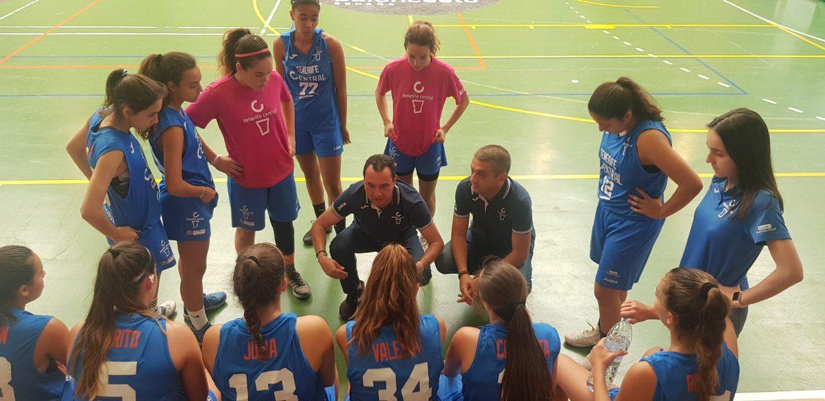 El Tenerife Central se queda a un paso de las semifinales del Campeonato de España Infantil